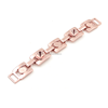 Alibaba China Fashion Shoes Accessories Rose Gold Color Custom Garment Metal Chains For Bags