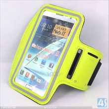 For Samsung Galaxy Note II/2/N7100 Sport Workout Armband Leather Case P-SAMN7100CASE055