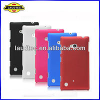 Hybrid Hard Case Cover For Nokia Lumia 720 Rubberized Hard Back case cover All color avialble Laudtec