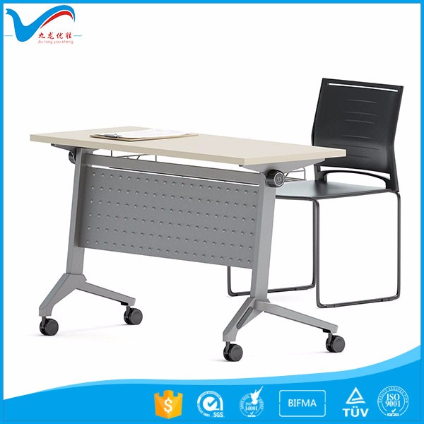 Wholesale Modular Office Folding Training Table Foldable Conference - Foldable training table