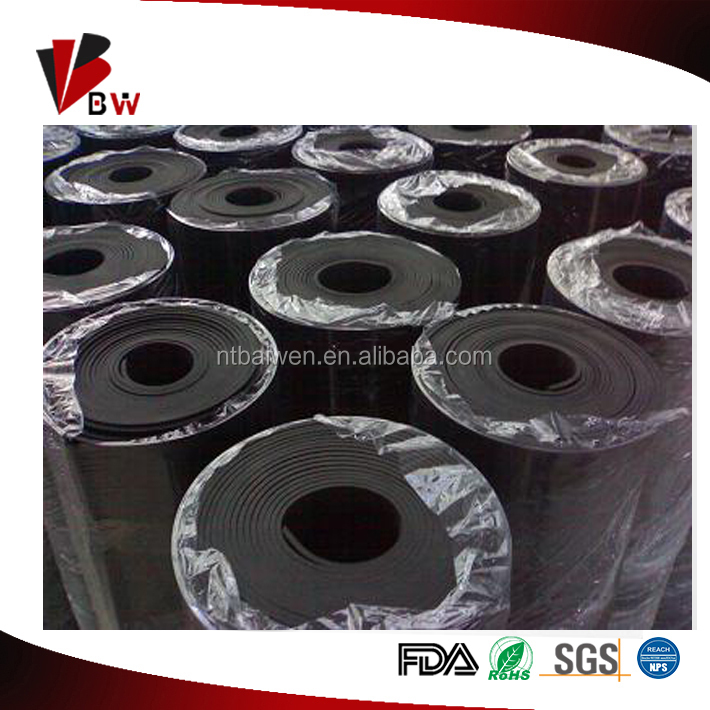 Natural rubber sheet SBR NBR CR EPDM silicone viton rubber sheet