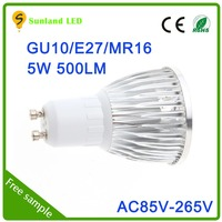 high quality dimmable 5W 50mm hole size led spotlight