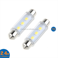 Whole Sale!!!42MM 3SMD LED Festoon Dome Map Interior LED Light Bulb T10 Car Lnterior Light Car Led Light