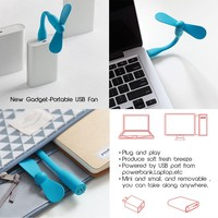 USB led light USB fan set computer power bank gadgets