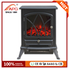 Artificial Freestanding Wooden Wood Fireplace