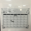 Magnetic Refrigerator Monthly Calendar Dry Erase WhiteBoard Planner