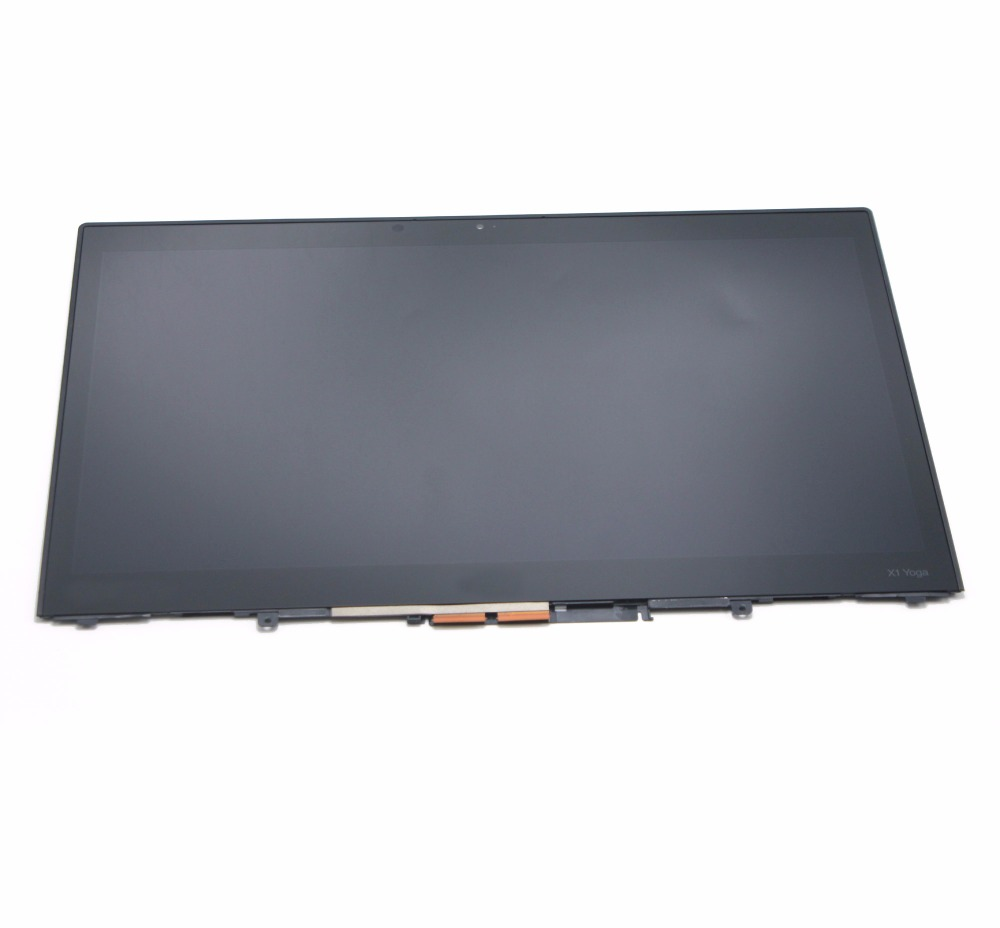 With Bezel 14'' 1920*1080 Touch Screen with LCD Assembly For Lenovo ThinkPad X1 Yoga