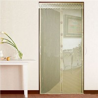 Cheap curtains soft magnetic screen doors insect mosquito net curtain magic mesh anti mosquito door curtain home design