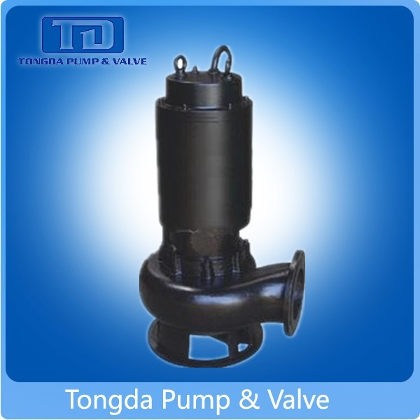 International ISO Standard Waste Water Treatment Used Electric Non-Clog Sewage Submersible Pump