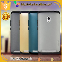 Scratch resistant slim armor PC minion silicone back cover for asus zenfone 6
