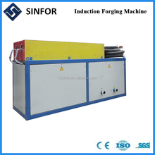 Electric induction heating forging furnace induction heat treatment device