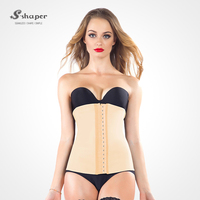 S-SHAPER Factory Price Latex Waist Trainer Underbust Body Shaper Corset