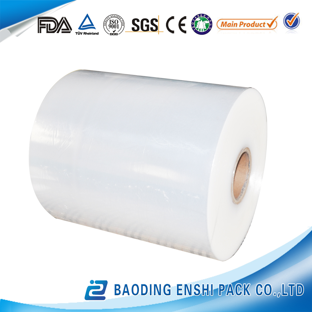 High quality and safety transparent best fresh hot blue Jumbo roll cling film 1500m