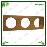 Unique High Quality Bamboo Square Spice Racks