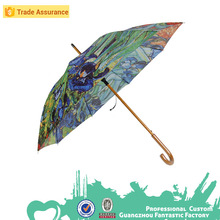 27 inch x 8k auto open walking stick umbrella