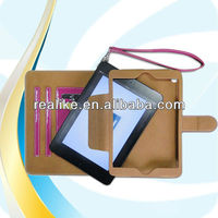 handle case for ipad mini,for ipad mini leather case