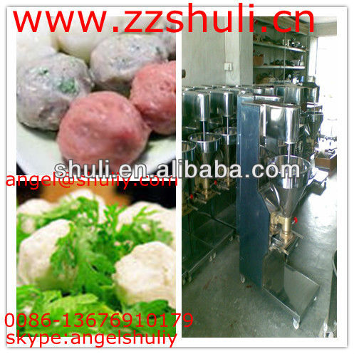 fish meatball forming machine/vegetable ball machine0086-13676910179