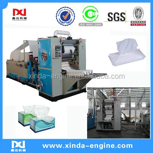 FT-20A box drawing automatically facial tissue machine with embossed,face tissue folding paper machine