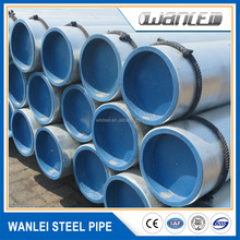 coating grade 100 schedule 20 galvanized seamless steel pipe for fluid and fire fighting