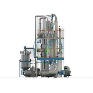 Environmental waste lube oil recycle plant