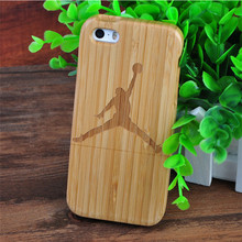 CORNMI For iPhone 5 5S SE Bamboo wooden Handmade hard cover