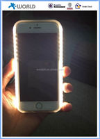 Shenzhen Manufacturer LED Case Illuminated Cell Phone Case for iPhone 6S