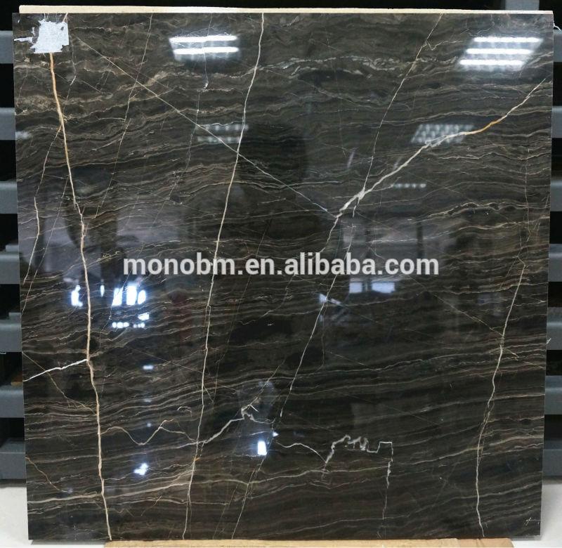 Pierre naturelle polie plaque de marbre gris pour hall de for Prix d une plaque de marbre