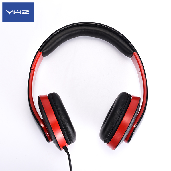 YWZ 40mm driver unit retractable headphone hand free headset high end