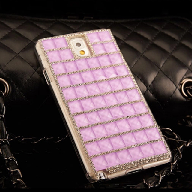 For Samsung Galaxy Note 3 Hard Clear Crystal Bling Diamond Fashion Phone Case Back Cover
