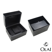 Custom MDF Black Watch Gift Box