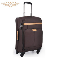 Nylon Material Soft Luggage Fabric Trolley