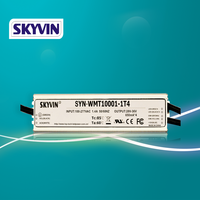 SKYVIN dimmable 0-10V PWM waterproof multi channel 36 volt LED driver 100W switching power supply