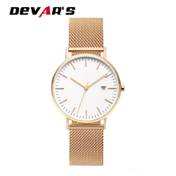 China Luxury Top 10 Watch Brands Custom Logo Lady Watch With Japan Movement Quartz Watch sr626sw