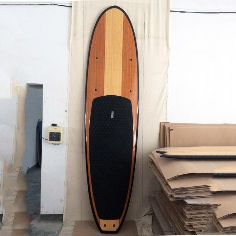 alibaba gold supplier Epoxy fibergalss wood sup stand up paddle boards sale