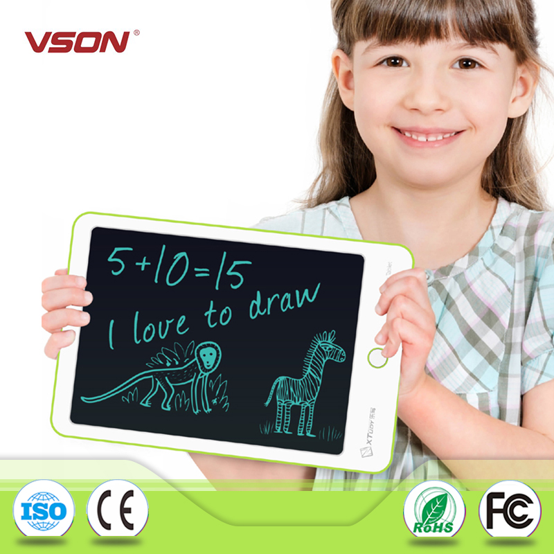 kids Magnetic Erasable Green Writing Board with Magnet