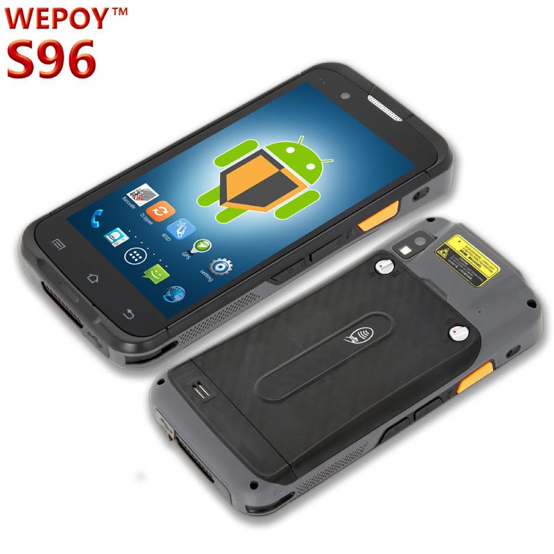 Android industrial 2d barcode scanner HF RFID pda