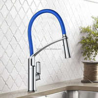 Single handle kitchen faucet with 2 function sprayer