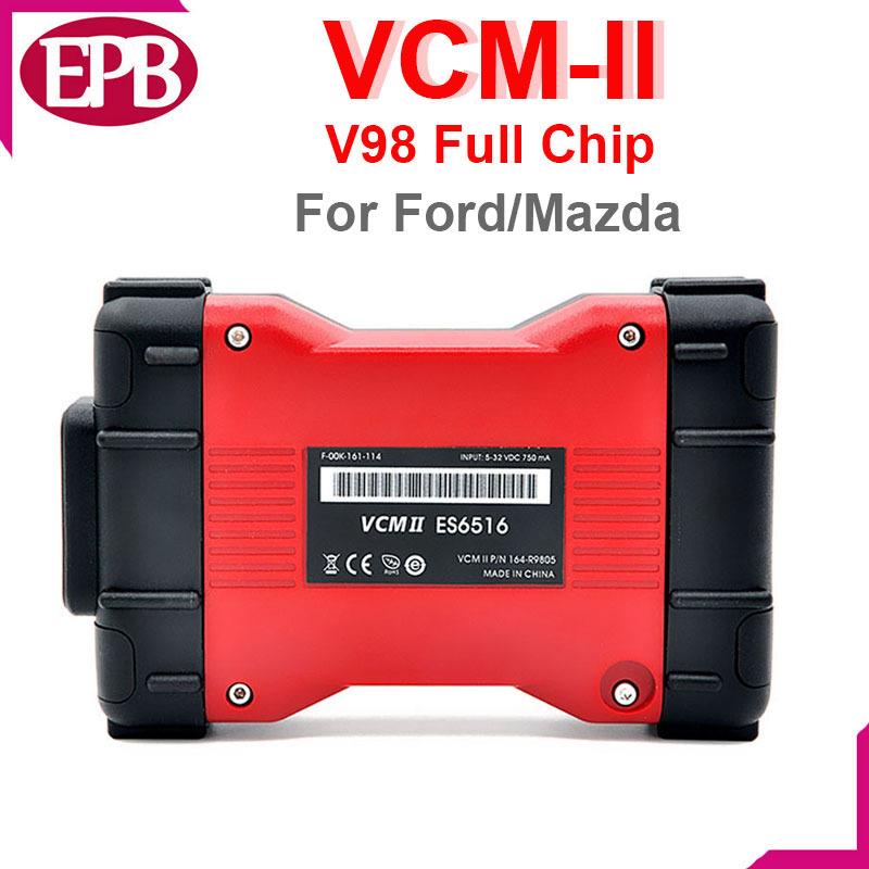 Free shipping VCM 2 V100 Diagnostic Scanner for mazda VCM II IDS Supports all F-ord Vehicles IDS V 2 OBD2 Scanner