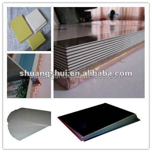photobook self-adhesive pvc sheet