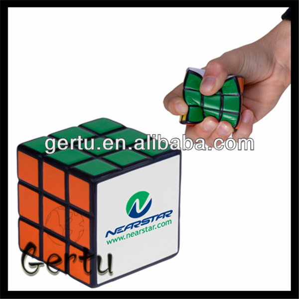 pu foam magic square stress ball