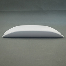 New design U-shaped white plate for 5 star hotel