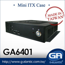 GA6401- 2x Serial Port Mini-ITX chassis for Digital Signage
