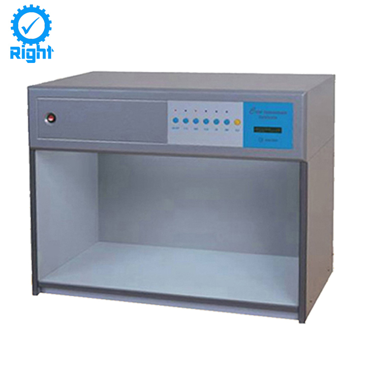 Textile Color Assessment Cabinet, Lab Color Matching Light Box, Light Box for Color Matching
