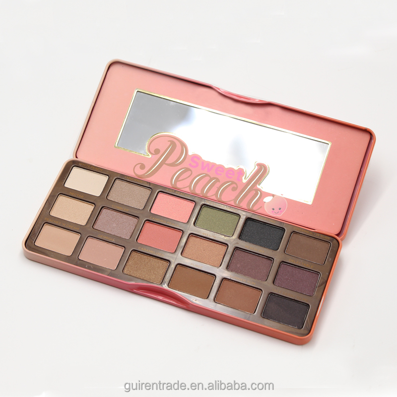Too Hot The Best New Faced Eye Shadow Sweet Peach Palette Makeup Eyeshadow Palette Bar Cosmetics