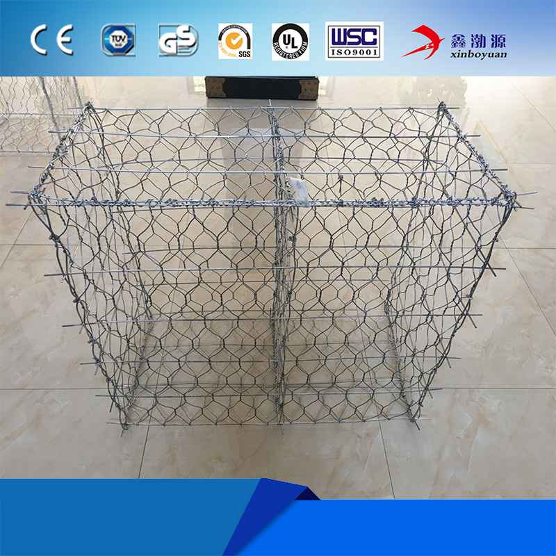Factory supply cheap price Gabion basket / wire cages rock wall