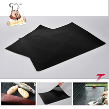 Factory Price Reusable Heat Resistance Silicone Grill Mat Set Teflon Barbecue Fireproof Charcoal Non Stick BBQ Teflon Grill Mat