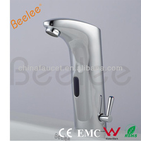 Deck Mounted Cold Only Sensor Basin Faucet Mixer
