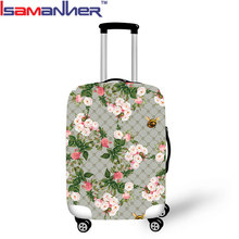 Lady travel suitcase cover protective, 10pcs WHOLESALE luggage cover bags