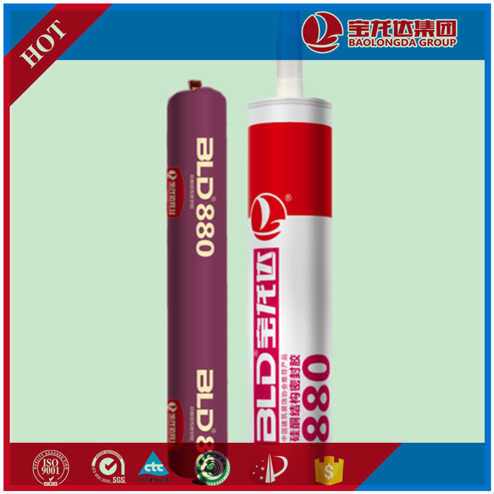 Colored Silicone Sealant adhesive For Stainless Steel & Insulating Glass