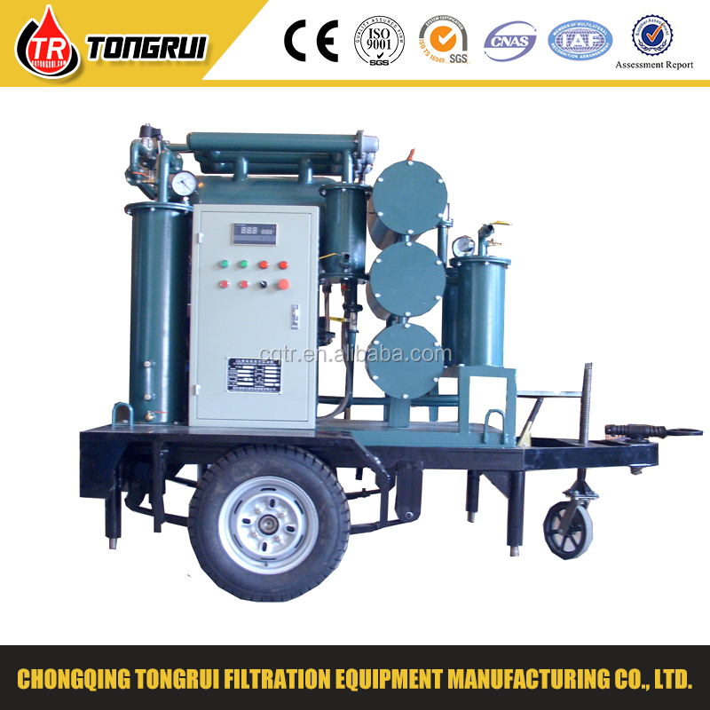 Single Stage Thermal Vacuum Purification Machine for Transformer Insulation Oil 6000L/Hr
